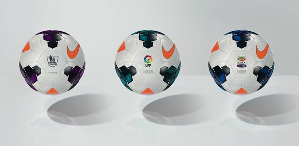 29e010288e Nike já distribuiu entre as equipes das melhores ligas do mundo a bola  oficial que usarão a próxima temporada. A Liga BBVA