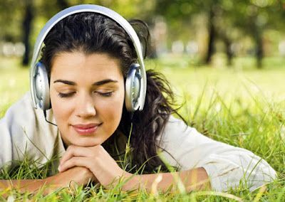 listen to your favourite music to destress