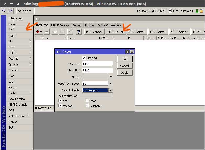 Openconnect vpn server
