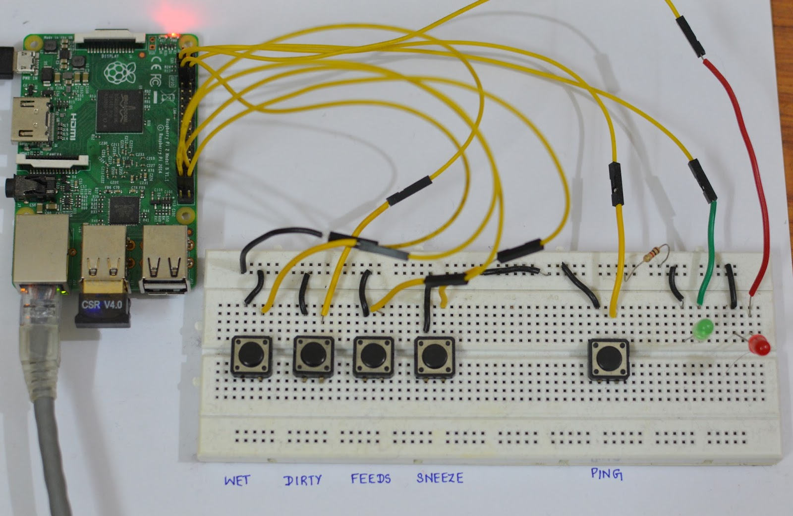 How I built a hack for tracking baby data using Raspberry Pi