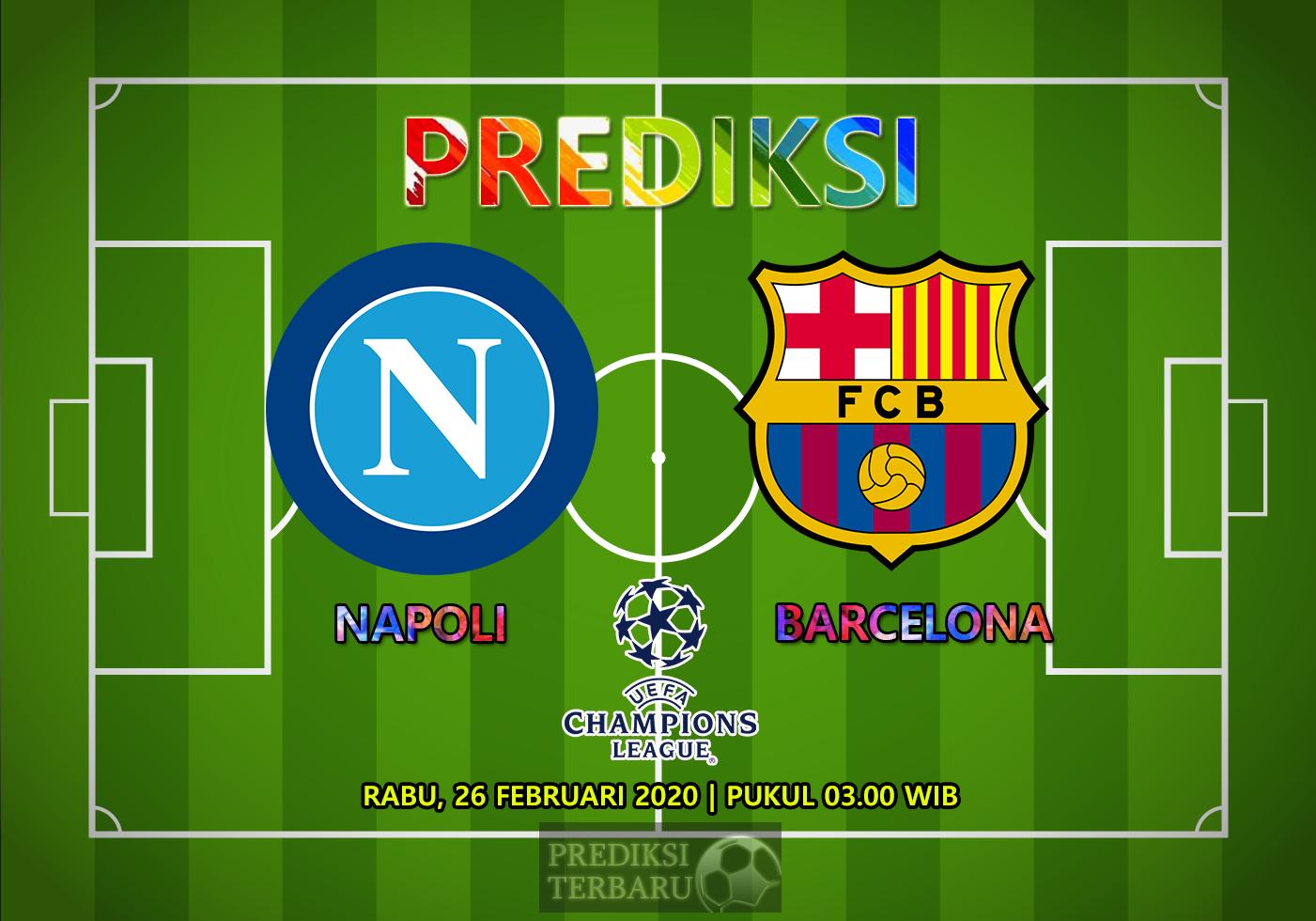 Prediksi Napoli Vs Barcelona, Rabu 26 Februari