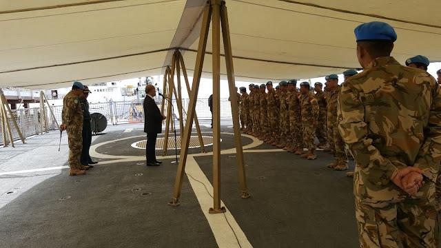 Dubes RI Untuk Turki Kunjungi Personel Konga XXVIII-J/Unifil di Mersin Turki