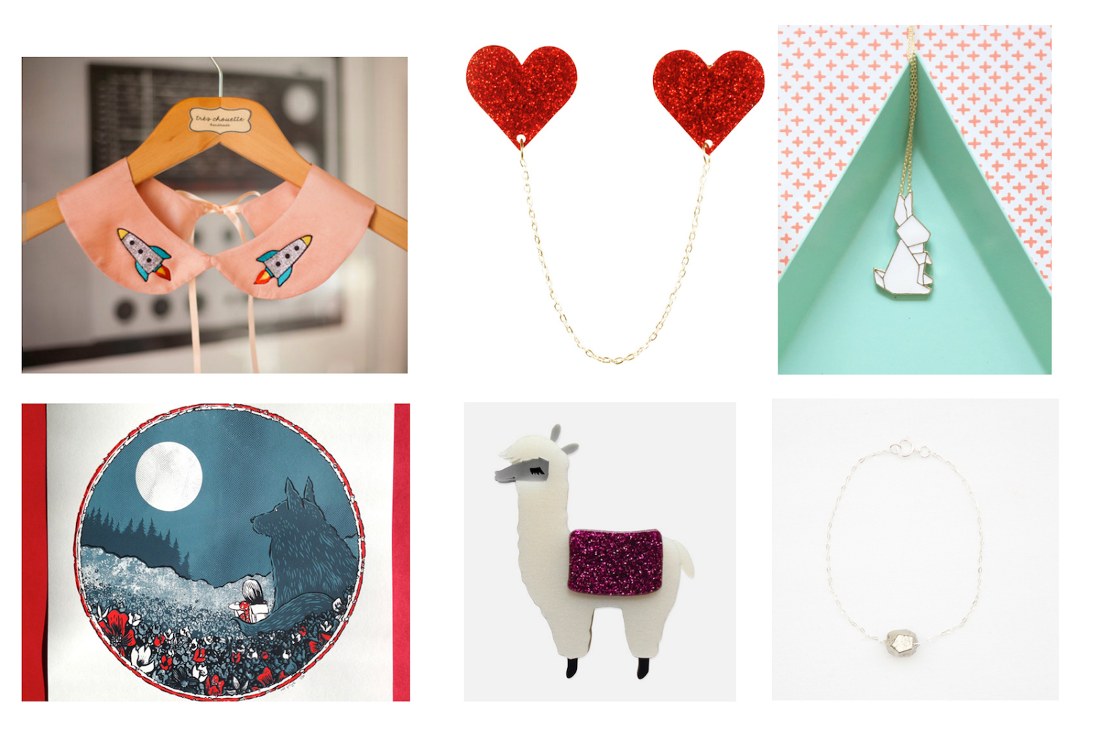 Christmas Gift Guide: Independent Jewellery, Accessories and Art