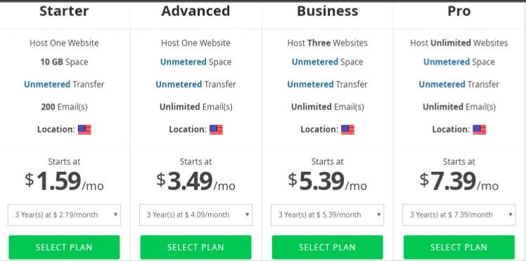 Bigrock flash sales, flash sales on bigrock hosting,.com at 99