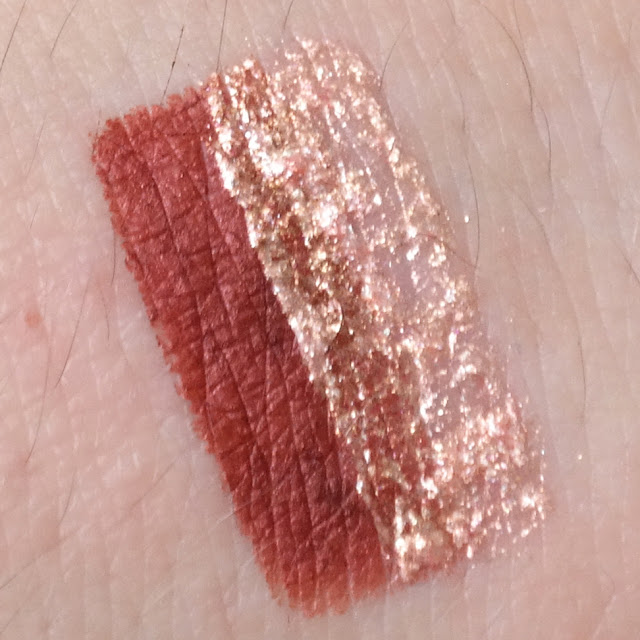 Lovely Holo Lips Lip Kit Paradise Sunset swatche