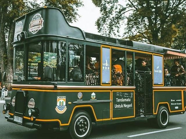 Harga Tiket, Pool, dan Rute Bus Wisata Sakoci di Cimahi