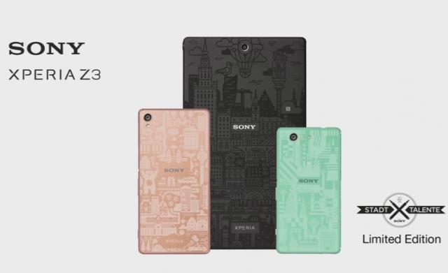 Sony Xperia Z3 Berlin, Tokyo dan Warsawa