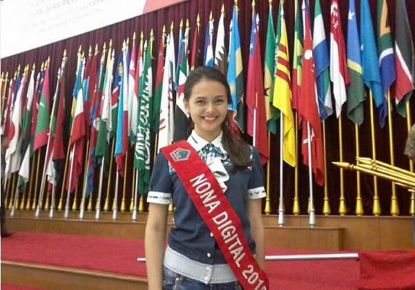 Profil Dan Biodata Jasi Michelle Tumbel Pemenang Juara Miss Celebrity 2016 Serta Foto