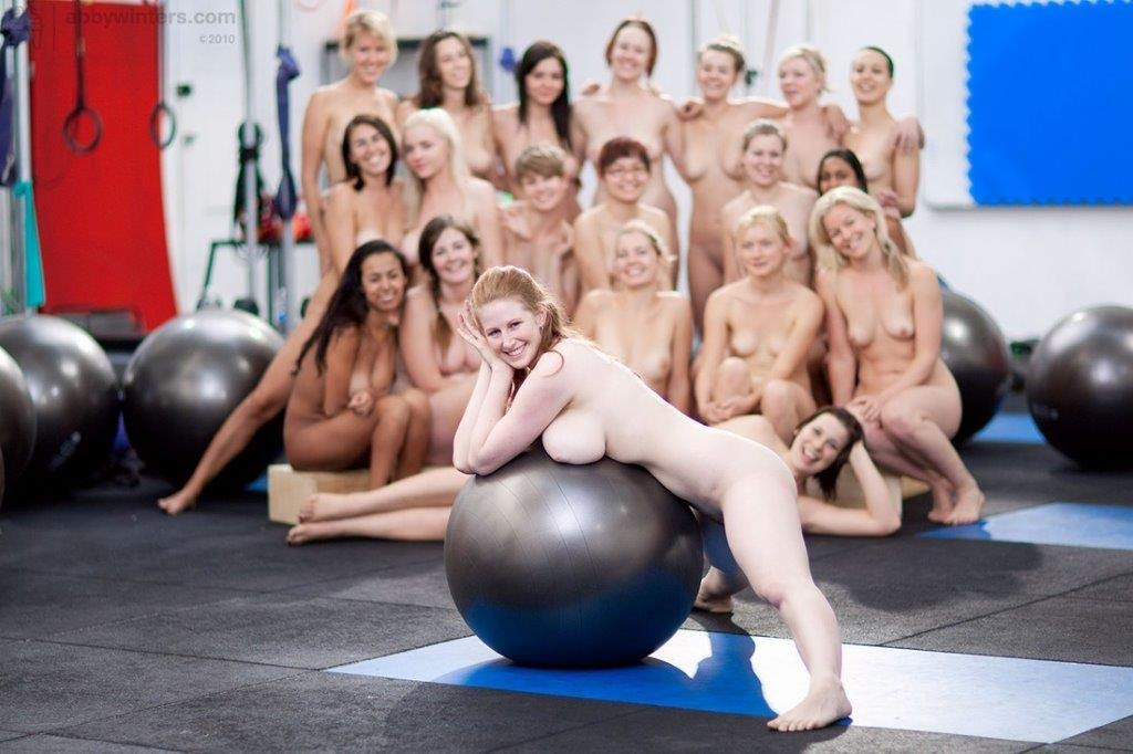 Yoga Workout Gym Girl Doing Hot Fit Sapphicerotica 1