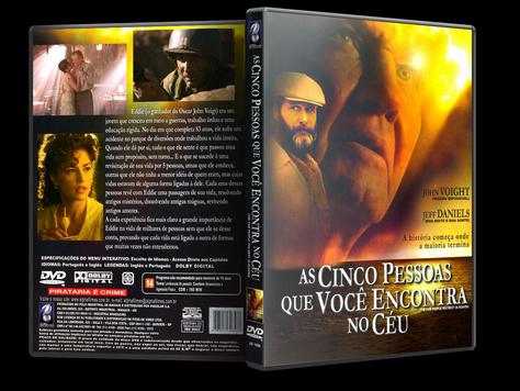 Capa DVD As Cinco Pessoas Que Você Encontra no Céu