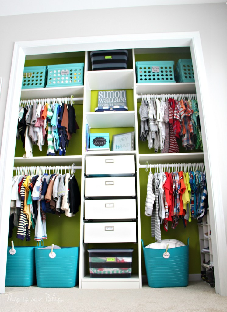 15 Tips For Organizing Kid Spaces