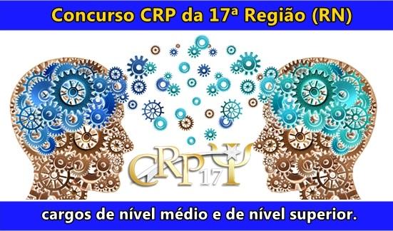 concurso do Conselho Regional de Psicologia RN - CRP 17ª Região