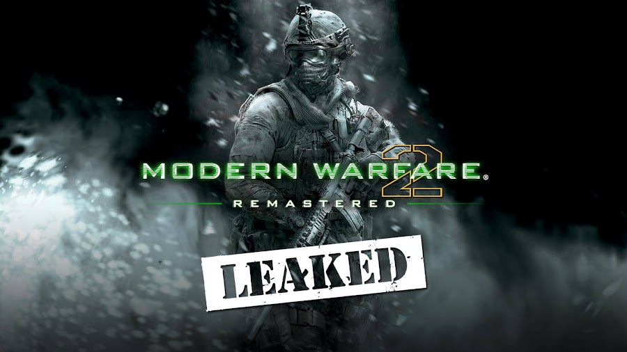 modern warfare 2 remastered pegi rating leak