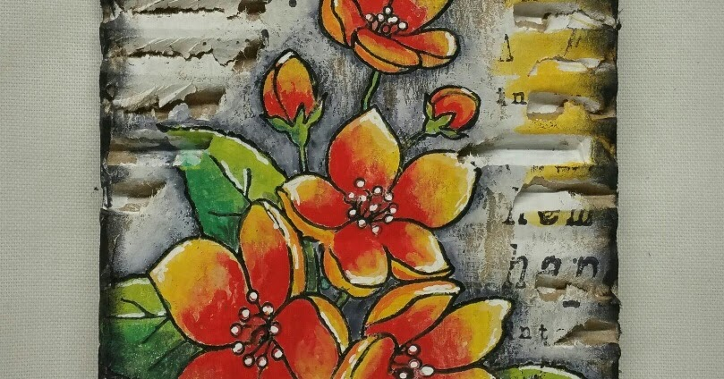 Cr ations a les tr sors tiquette bouquet fleuri for Bouquet fleuri