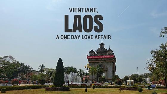 Vientiane, Laos, Patuxai