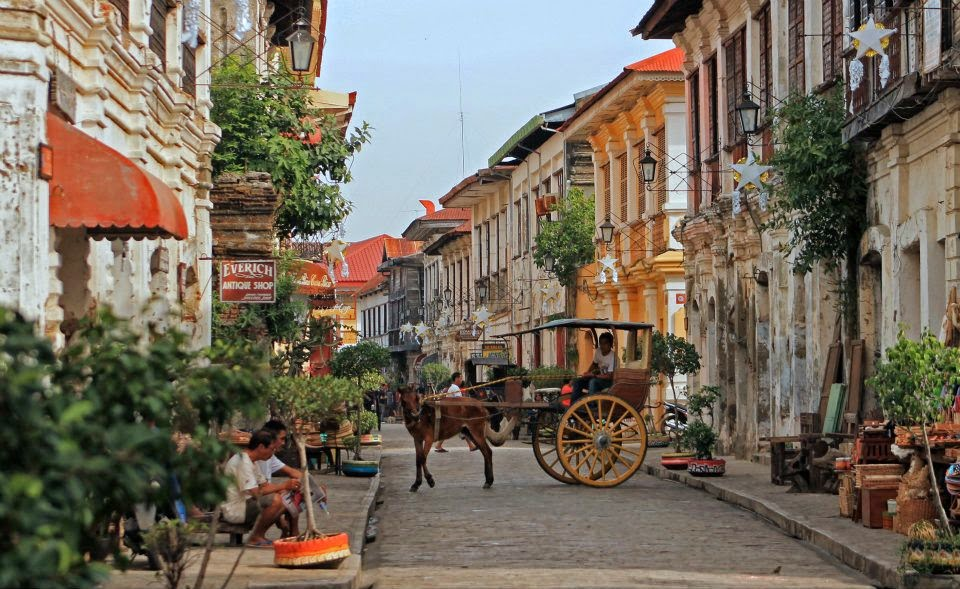 Vigan City One of the New7Wonders Cities