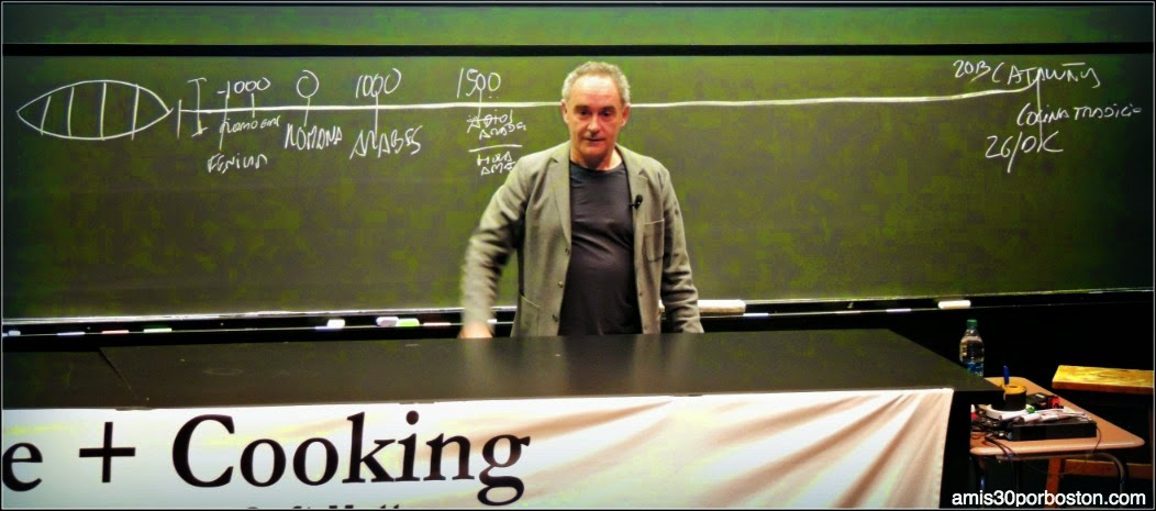 Ferran Adrià En Harvard. Science & Cooking 2014