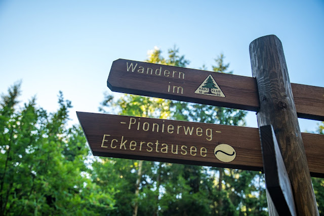 Rundweg Eckerstausee  Wanderung Bad Harzburg 10