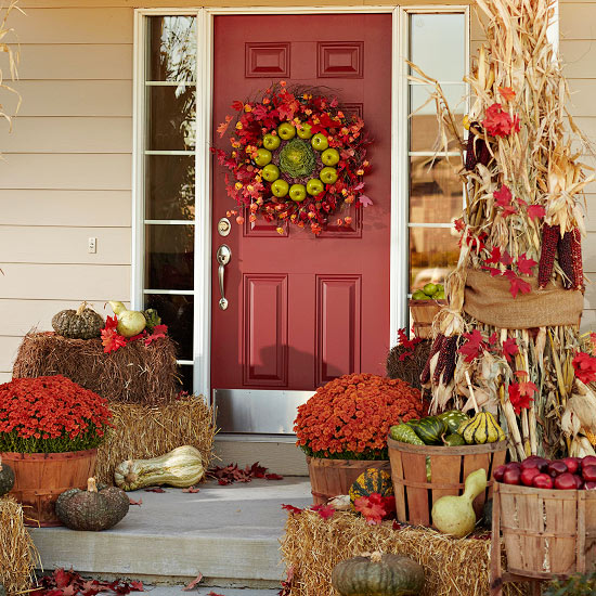 Northern Nesting: Outdoor Fall Decorating Ideas...courtesy ...