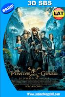Piratas del Caribe: La Venganza de Salazar (2017) Latino 3D SBS 1080P - 2017