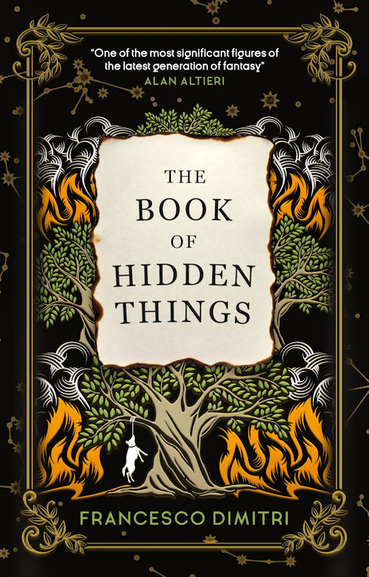 Spotlight - The Book of Hidden Things by Francesco Dimitri