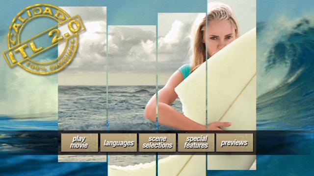 Alma de Surfista DVDR Menu Español Latino