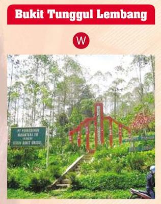 Tiket masuk Bukit Tunggul Lembang