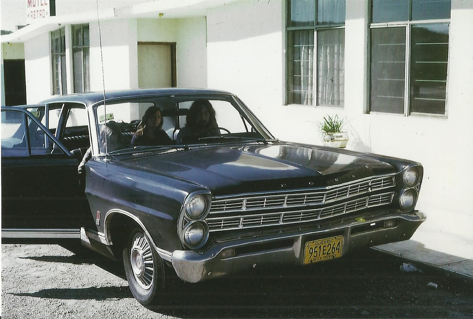 en Ford galaxie 500