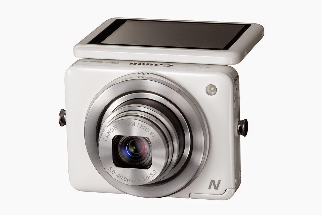 Em um primeiro momento parece uma câmera estranha, e realmente a Canon N é  estranha bceaf8a178