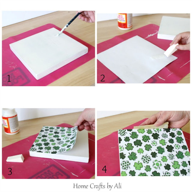 step-by-step tutorial to paint paper and sand sign