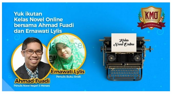 Kelas Novel Online Bersama Afuadi
