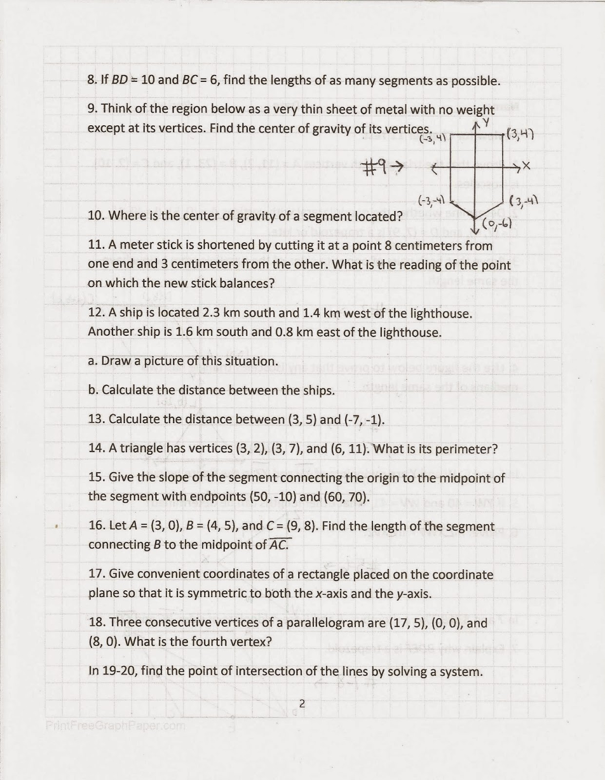 Glencoe Geometry Worksheet Answers Chapter 11