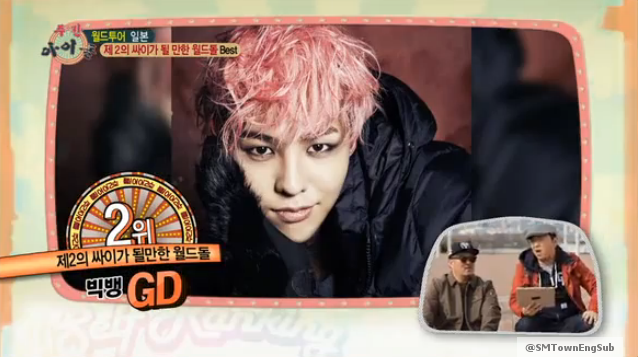Big Bang's G-Dragon
