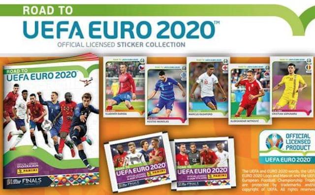 Figurine Road to Euro 2020