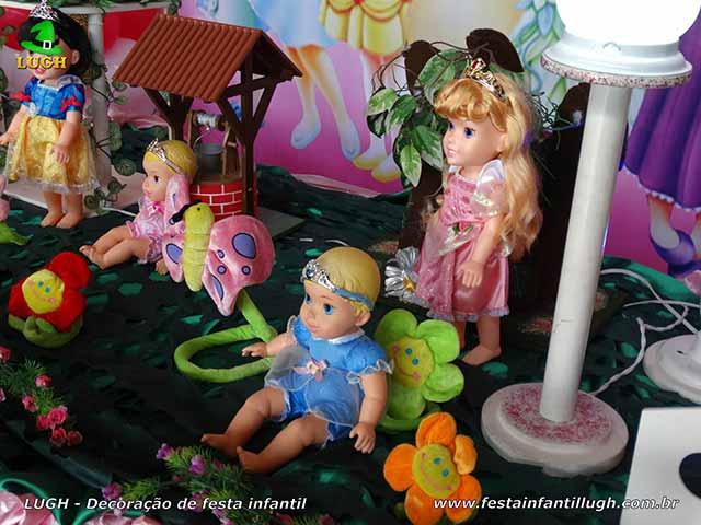 Mesa temática das Princesas Baby Disney - Aniversário infantil