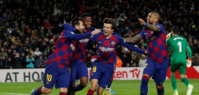 ميسي يقود هجوم برشلونة أمام ليجانيس في الكأس