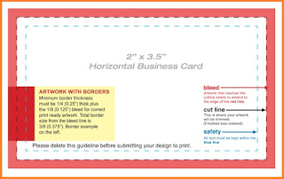 business card template google docs