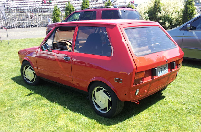 A Yugo in good condition.