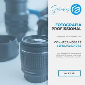 Serviço de Fotografia Profissional