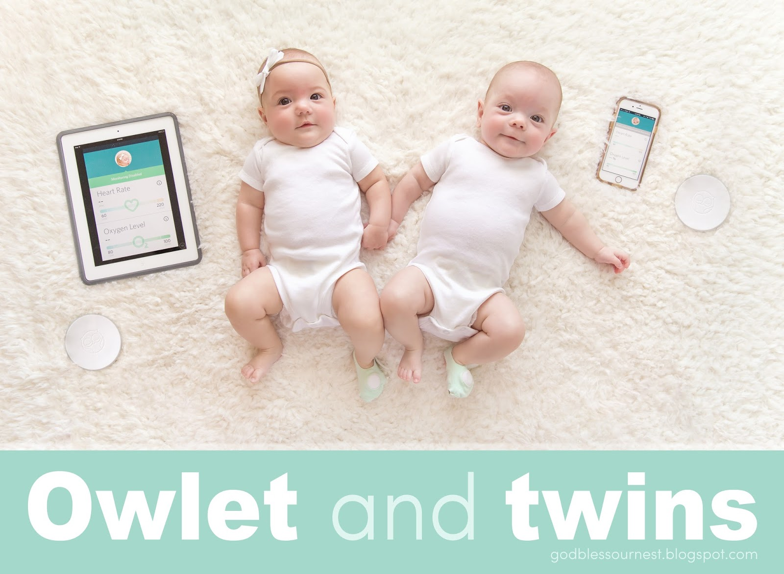 Owlet baby monitor and twins