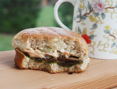 äkta club sandwich