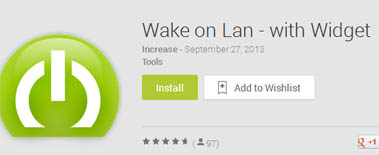 Wake on LAN Android App Remote pc
