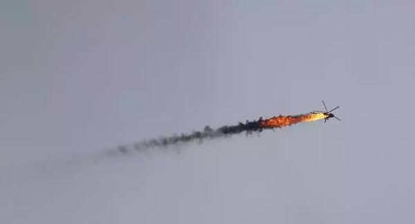 Κατάρριψη ελικοπτέρου των συριακών δυνάμεων στο Χαλέπι - Βίντεο