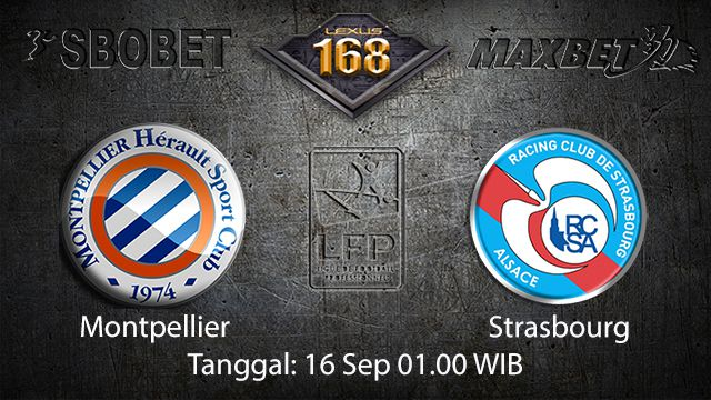 Prediksi Bola Jitu Montpellier vs Strasbourg 16 September 2018 ( French Ligue 1 )