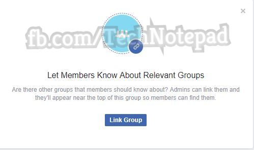 Link Group to Group