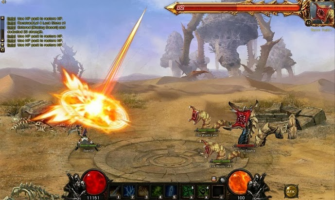 Wartune Browser game PC