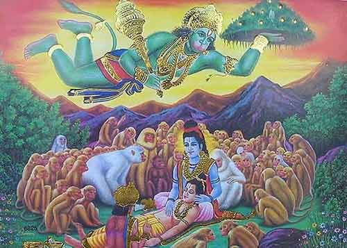Symbolism Hanuman Bharata Ramayana
