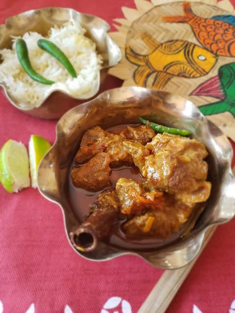 Niramish Mangsho, Bengali Vegetarian Mutton Curry