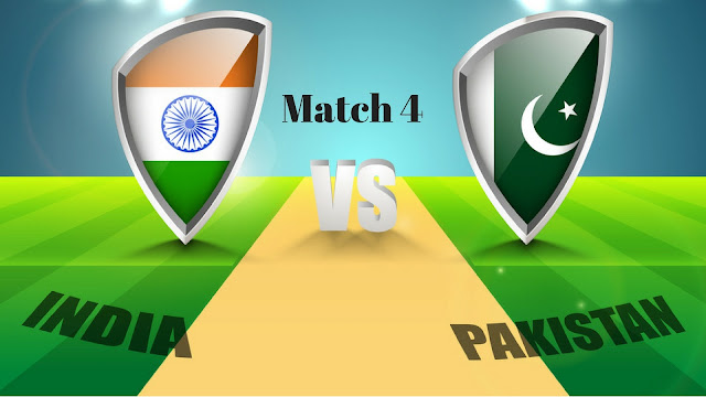 Ind Vs. Pak, India Vs. Pakistan, 4th Match Live Streaming ICC Champions Trophy 2017
