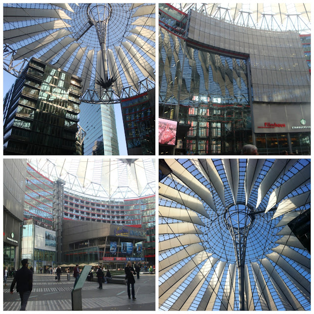 Sony Center, Potsdamer Platz, Berlim